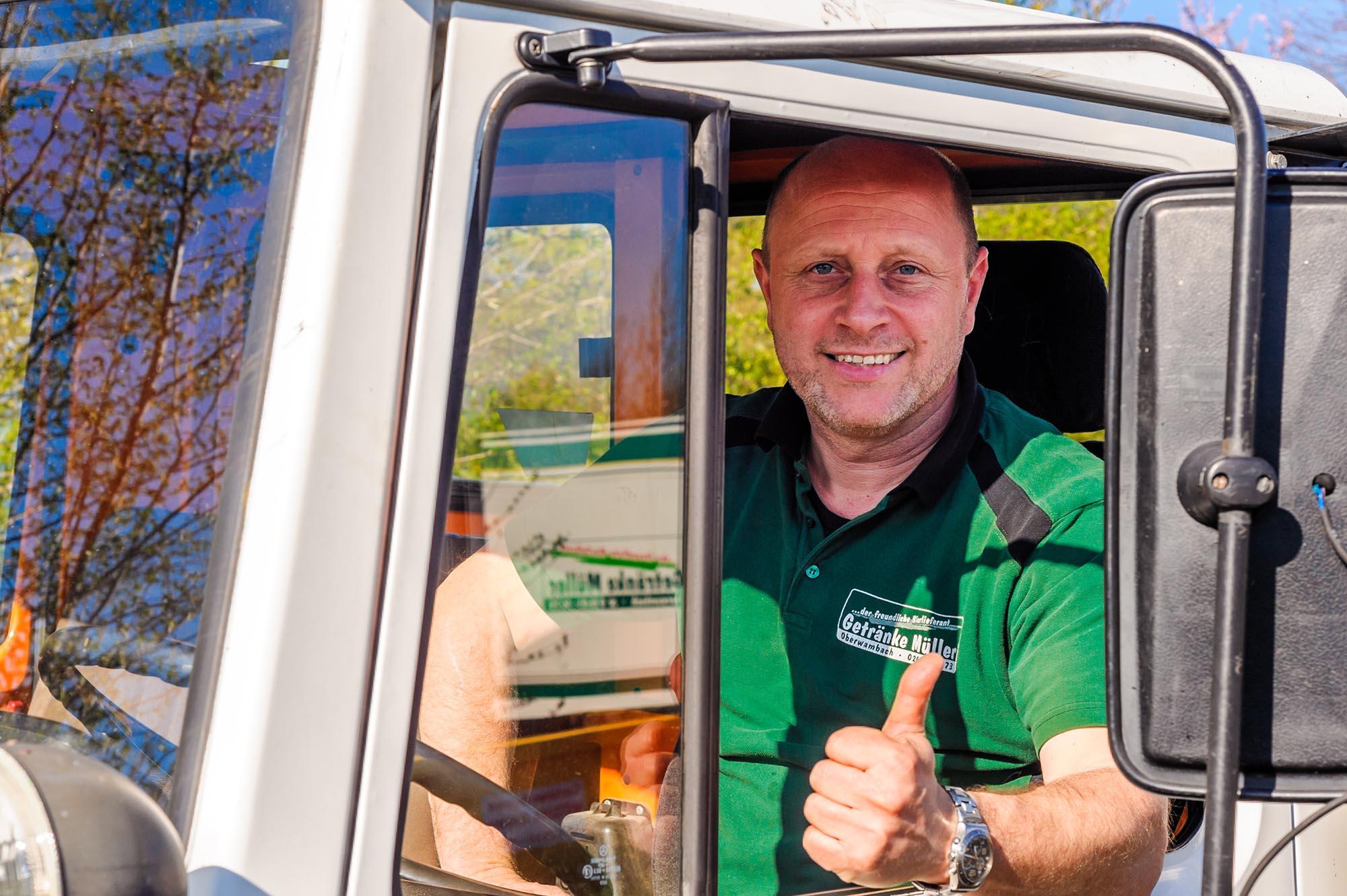 Michael Müller, Ansprechpartner für Gastronomen im Westerwald