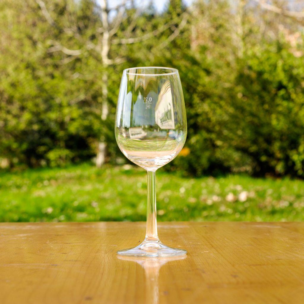 Weinglas 0.2
