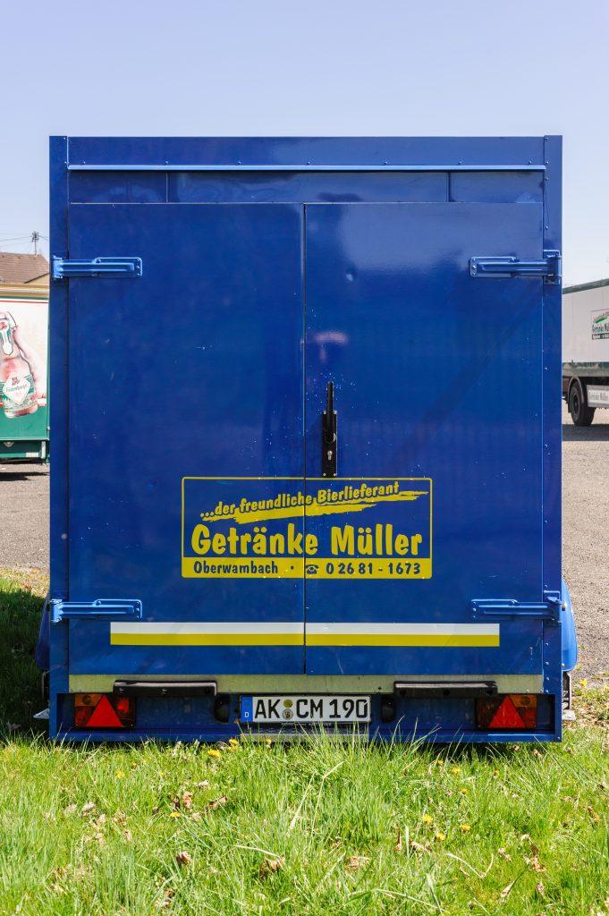 Kühlwagen »Corona«, Rückseite/Türen