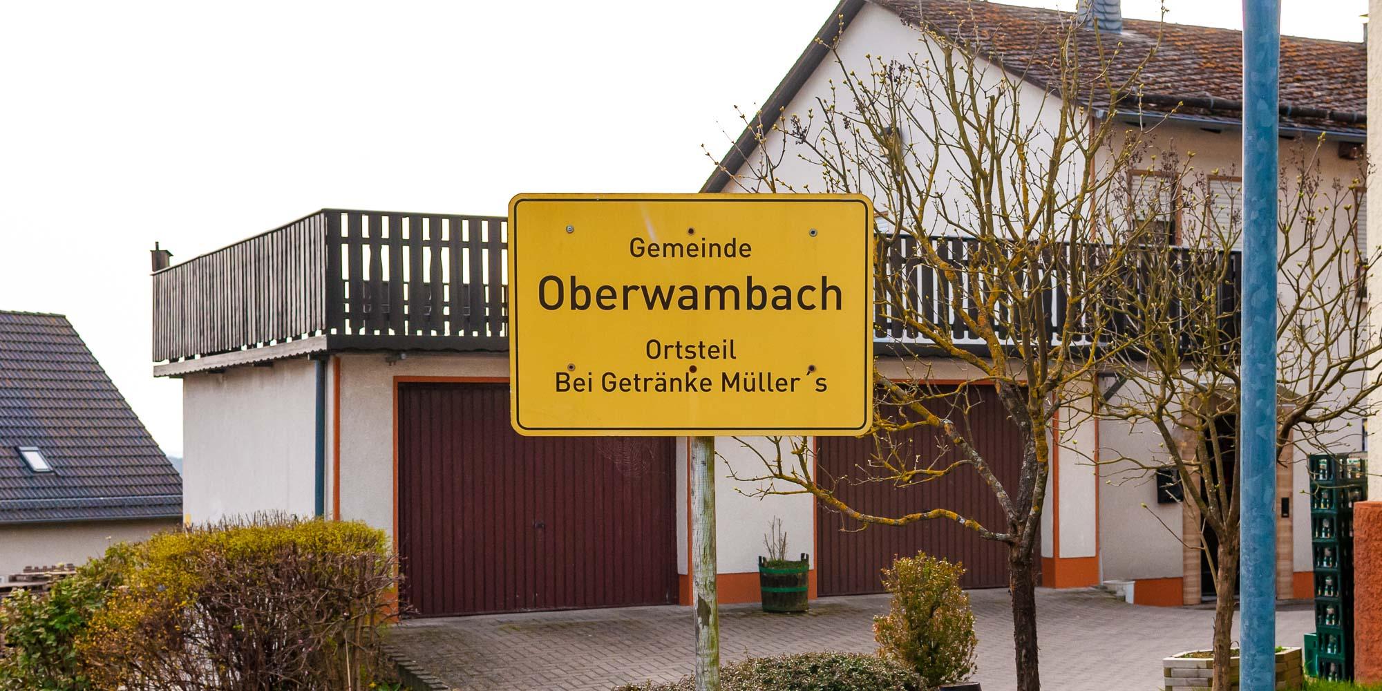 Getränke Müller in Oberwambach – der freundliche Bierlieferant!